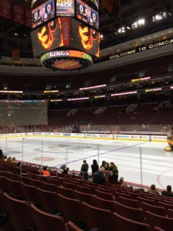 Wells Fargo Center, section: 115, row: 11, seat: 13