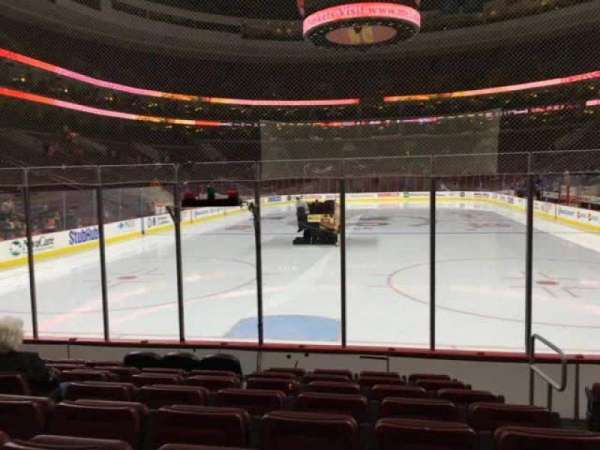 Wells Fargo Center, section: 119, row: 8, seat: 12