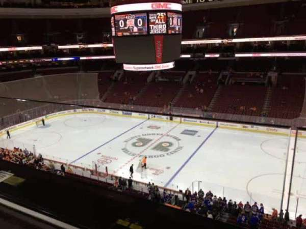 Wells Fargo Center, section: 203, row: 1, seat: 9