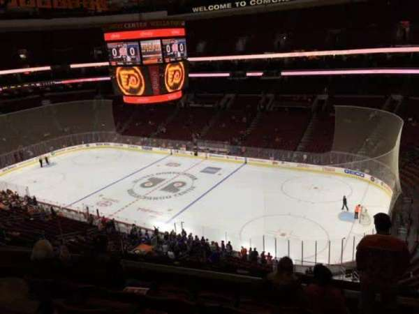 Wells Fargo Center, section: 204, row: 6, seat: 5