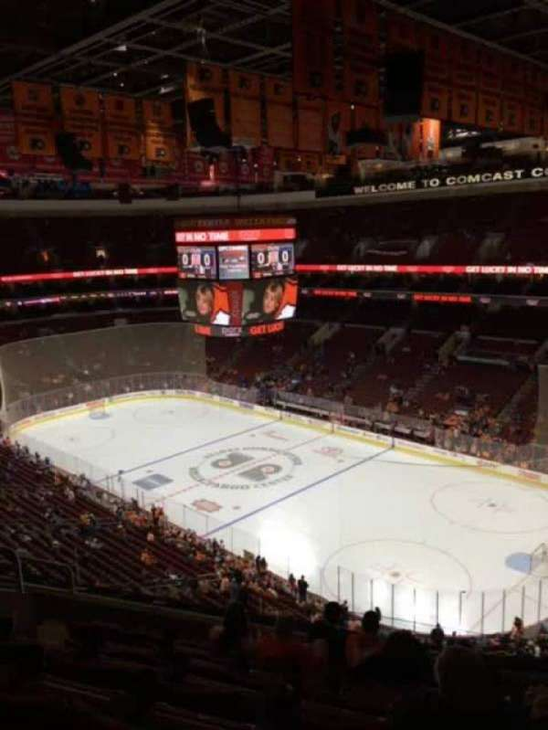 Wells Fargo Center, section: 216a, row: 8, seat: 8