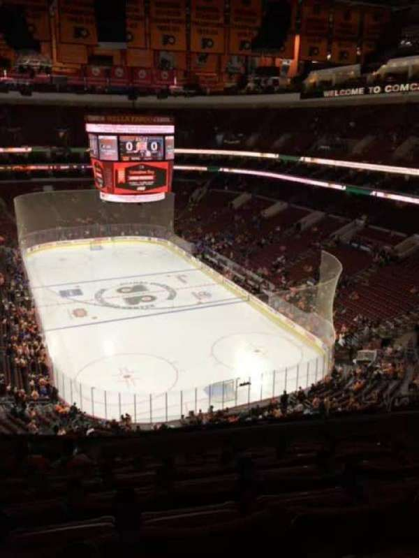 Wells Fargo Center, section: 218, row: 6, seat: 8