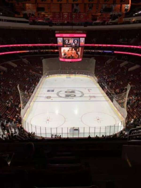Wells Fargo Center, section: 219, row: 7, seat: 13