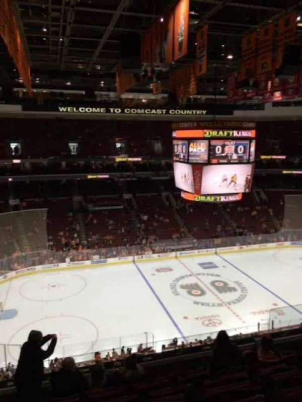 Wells Fargo Center, section: 223, row: 7, seat: 12