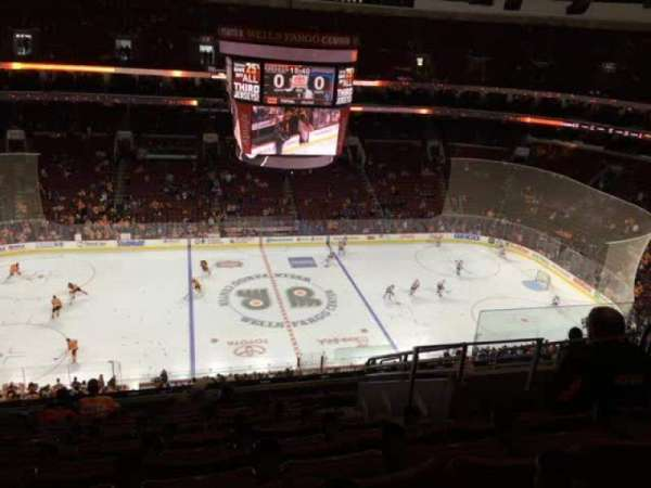 Wells Fargo Center, section: 224, row: 11, seat: 15