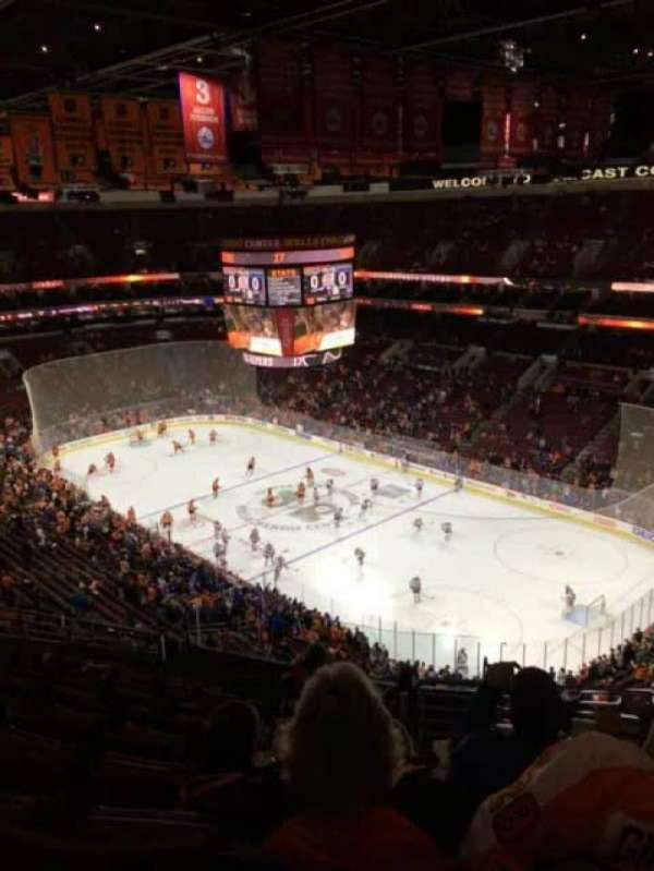 Wells Fargo Center, section: 204a, row: 13, seat: 14