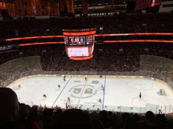 Wells Fargo Center, section: 202, row: 15, seat: 9