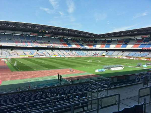 Nissan Stadium (Yokohama), section: Lower Stand, row: 22, seat: 128