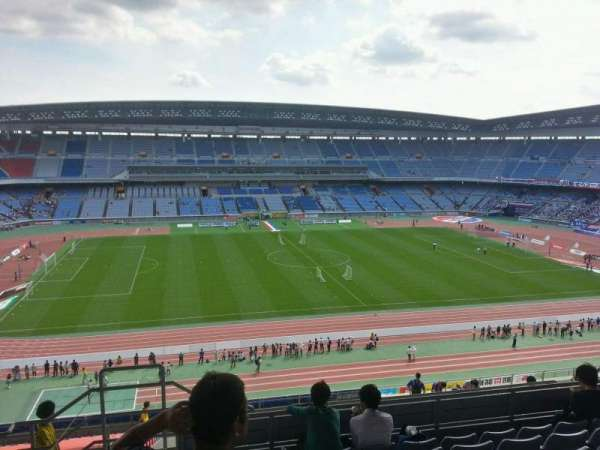 Nissan Stadium (Yokohama), section: Upper Stand, row: 20, seat: 301