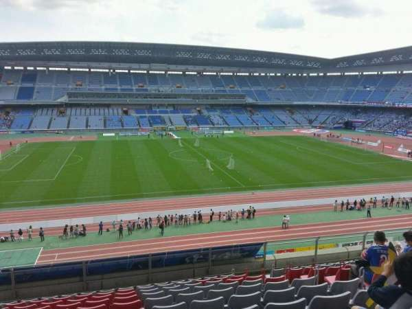 Nissan Stadium (Yokohama), section: Upper Stand, row: 10, seat: 310