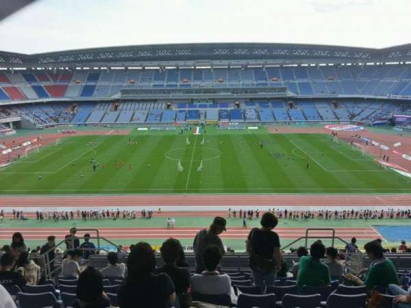 Nissan Stadium (Yokohama), section: Upper Stand, row: 23, seat: 407
