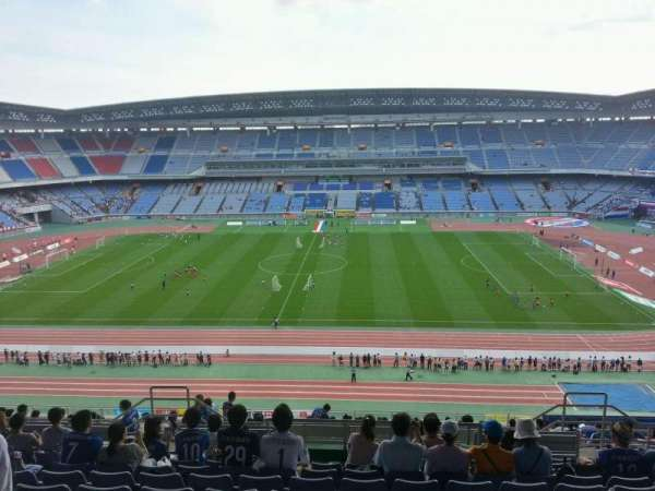 Nissan Stadium (Yokohama), section: Upper Stand, row: 24, seat: 428