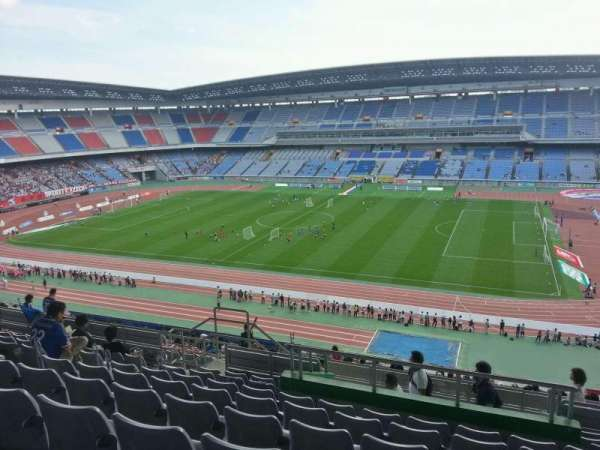 Nissan Stadium (Yokohama), section: Upper Stand, row: 22, seat: 530