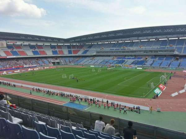 Nissan Stadium (Yokohama), section: Upper Stand, row: 8, seat: 608