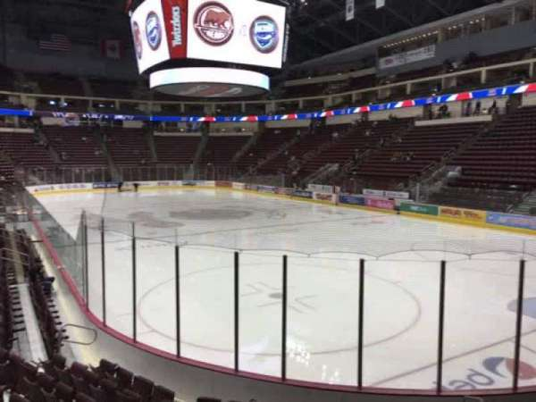 Giant Center, section: 111, row: J, seat: 4