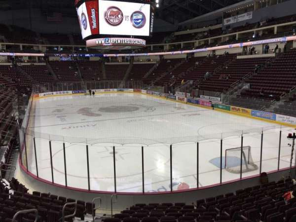 Giant Center, section: 112, row: N, seat: 8