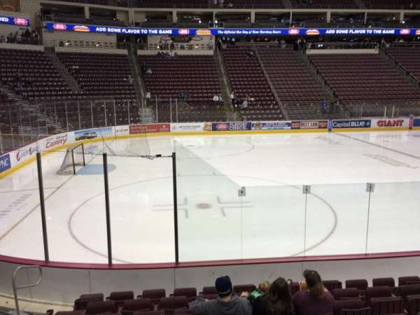 Giant Center, section: 118, row: H, seat: 10