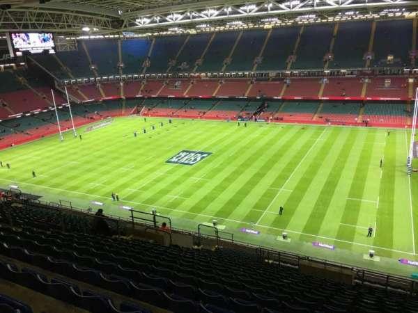 Principality Stadium, section: U27, row: 24, seat: 18