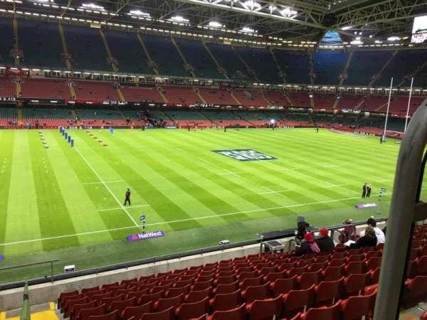 Principality Stadium, section: M33, row: 11, seat: 12
