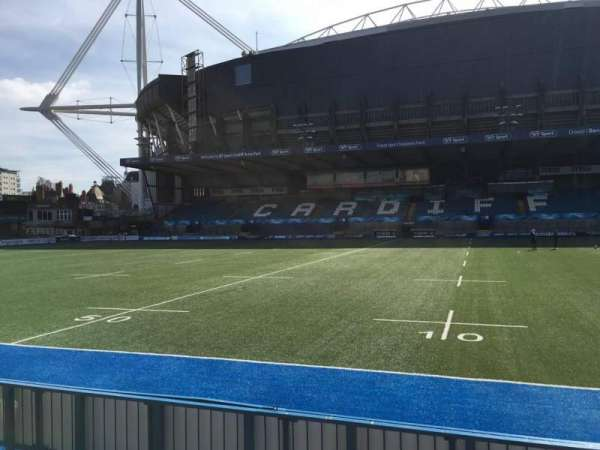 Cardiff Arms Park, section: Standing 12, row: 10