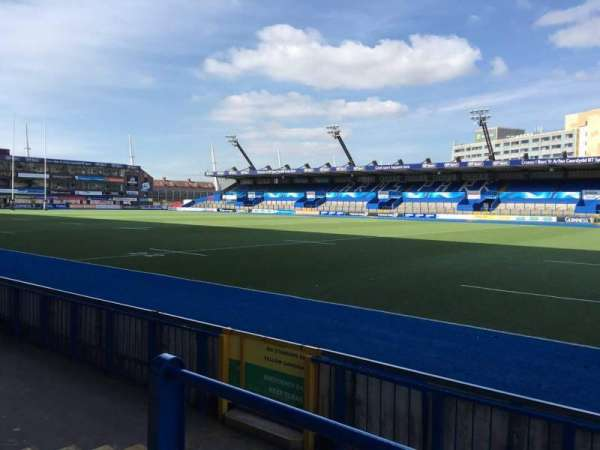 Cardiff Arms Park, section: Standing 1, row: 10