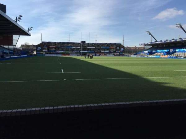Cardiff Arms Park, section: 19, row: C, seat: 12