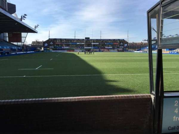 Cardiff Arms Park, section: 19, row: D, seat: 5
