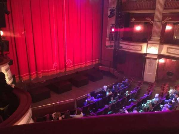 New Theatre (Cardiff), section: Circle, row: B, seat: 4