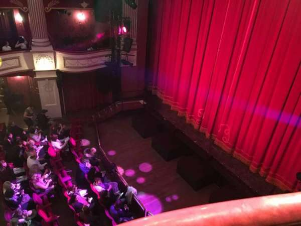 New Theatre (Cardiff), section: Box J, row: 1, seat: 1