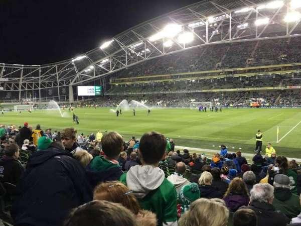 Aviva Stadium, section: 121, row: W, seat: 10