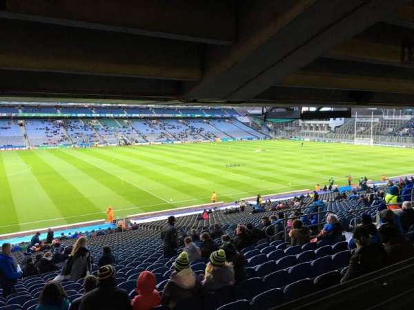 Croke Park, section: 409, row: Ww