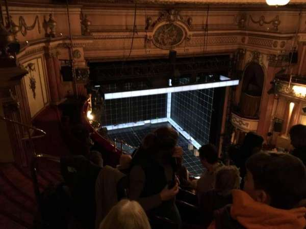 Gielgud Theatre, section: Grand Circle, row: F, seat: 26