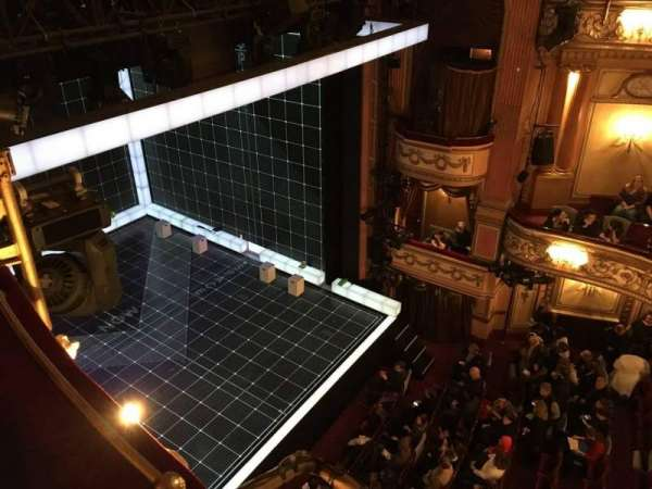 Gielgud Theatre, section: Grand Circle, row: Aa, seat: 11