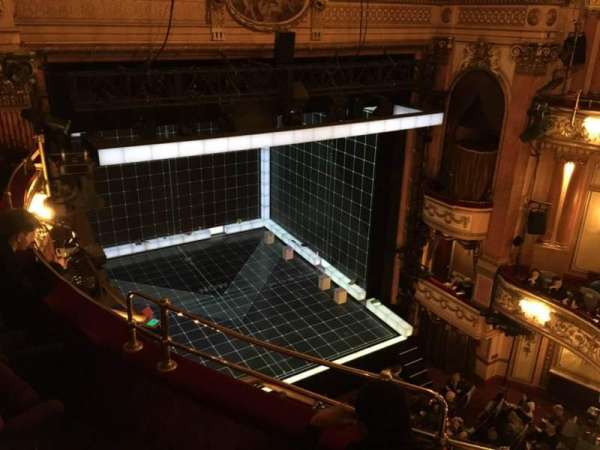 Gielgud Theatre, section: Grand Circle, row: C, seat: 28