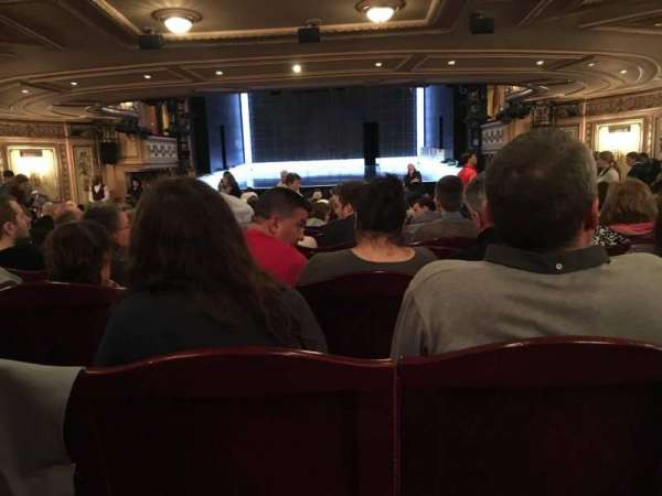 Gielgud Theatre, section: Stall, row: W, seat: 12