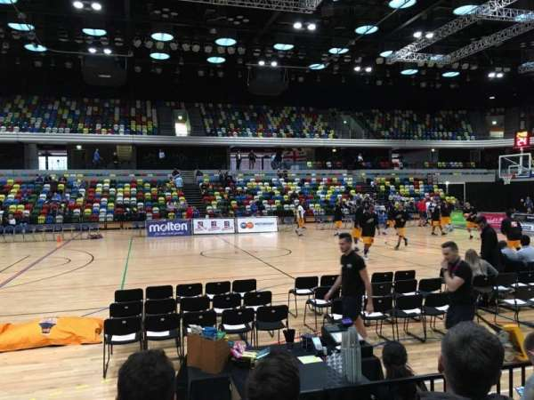 Copper Box Arena, section: 111, row: 4, seat: 88
