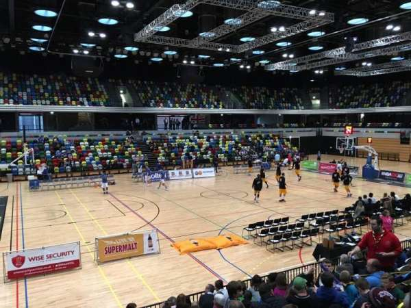 Copper Box Arena, section: 112, row: 9, seat: 106
