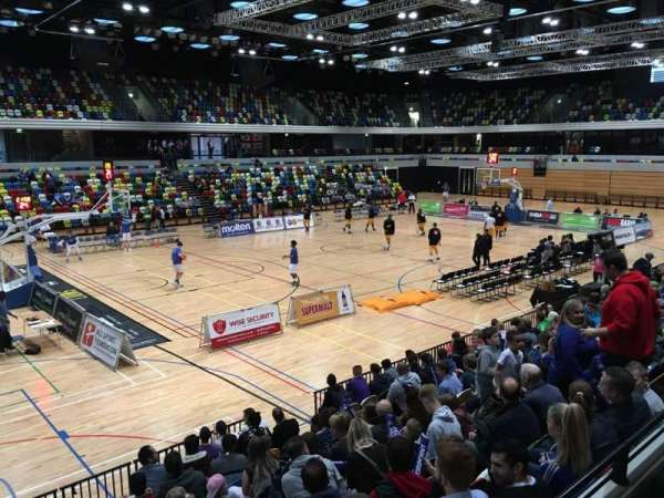 Copper Box Arena, section: 112, row: 10, seat: 122