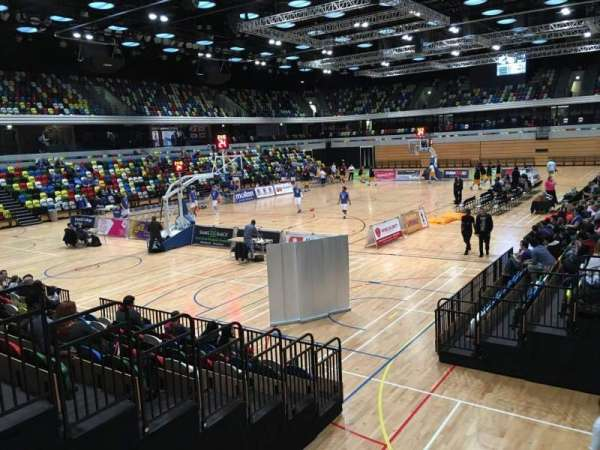 Copper Box Arena, section: 114, row: 9, seat: 18