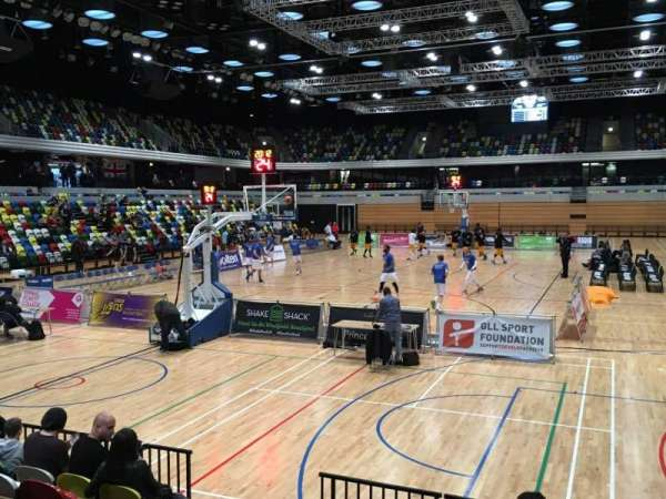 Copper Box Arena, section: 114, row: 7, seat: 35