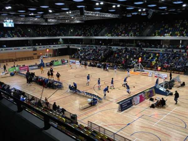 Copper Box Arena, section: 202, row: 12, seat: 23