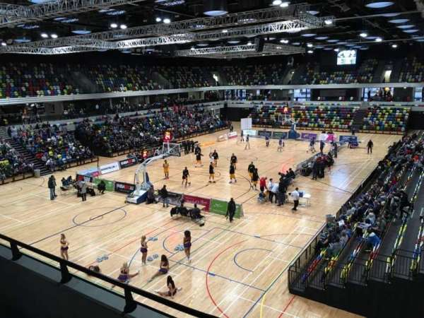 Copper Box Arena, section: 206, row: 12, seat: 15