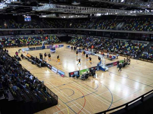 Copper Box Arena, section: 209, row: 15, seat: 99