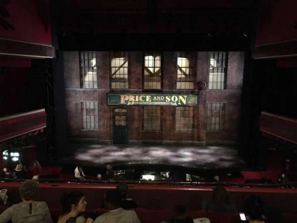 Adelphi Theatre, section: Dress Circle, row: F, seat: 18