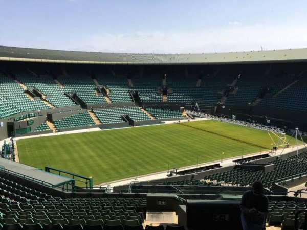 Wimbledon, Court No. 1, section: 37, row: R, seat: 245