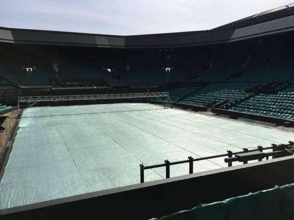 Wimbledon, Centre Court, section: 207, row: A, seat: Aisle Seat