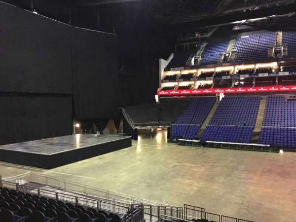 The O2 Arena, section: 102, row: T, seat: 58