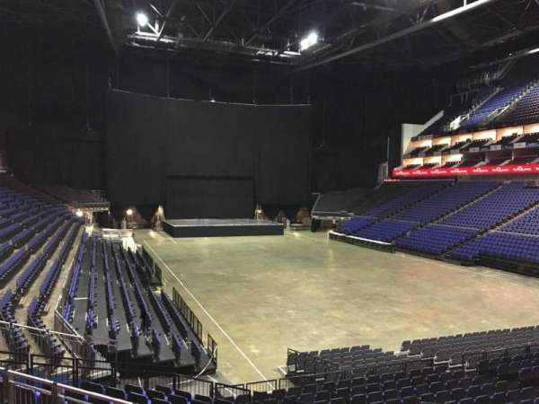 The O2 Arena, section: 105, row: T, seat: 158