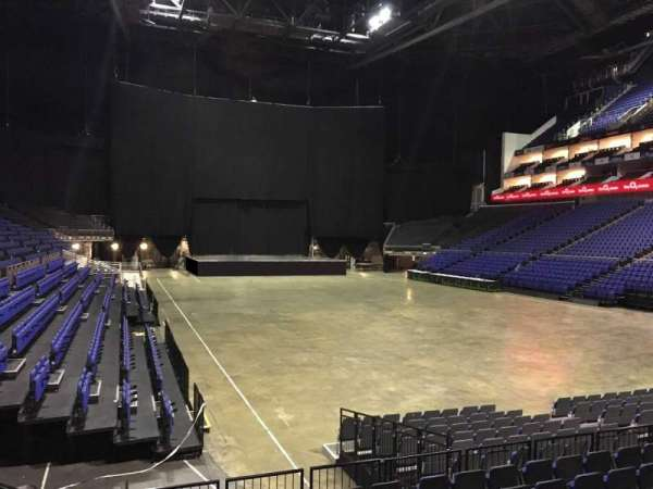 The O2 Arena, section: 104, row: K, seat: 151