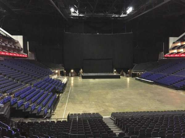 The O2 Arena, section: 106, row: T, seat: 180